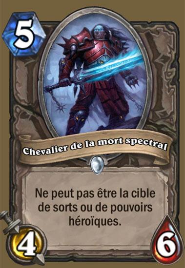 carte chevalier de la mort Chevalier de la mort spectral   Carte HearthStone   Hearthstone