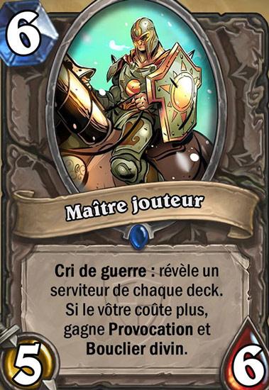 Ma Tre Jouteur Carte Hearthstone