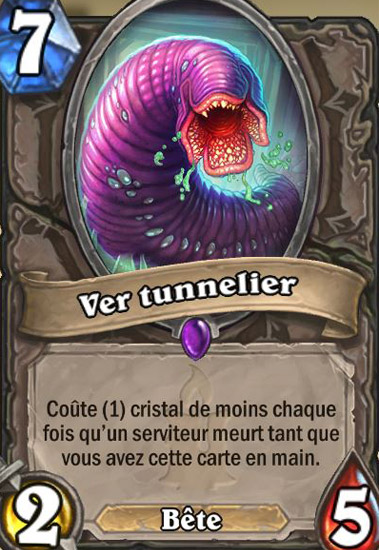 Carte Hearthstone.Ver Tunnelier Carte Hearthstone Hearthstone Judgehype