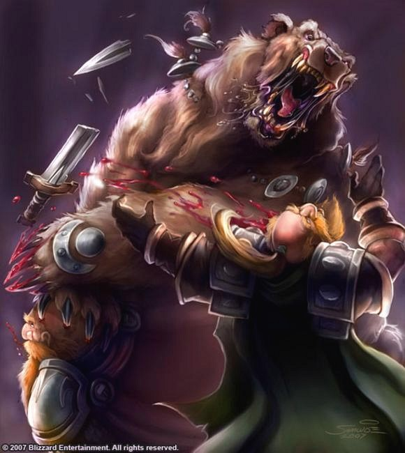 Illustration de Hearthstone.