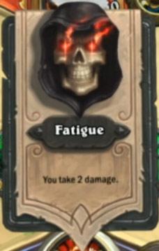 Carte Fatigue
