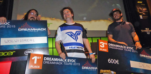 Tars - чемпион Dreamhack Drance